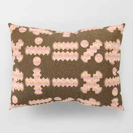 Seamless Colorful Abstract Mathematical Symbols Pattern IV Pillow Sham