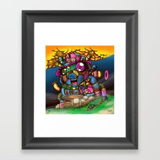 mad house Framed Art Print