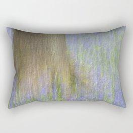 The Bluebell Wood, Norwich Rectangular Pillow