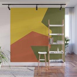 Minimalism Abstract Colors #6 Wall Mural