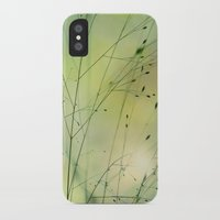 grass iPhone & iPod Cases featuring Grass by Lena Weiss