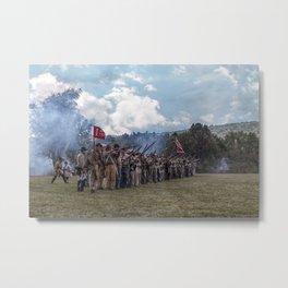 Southern Soldiers Metal Print