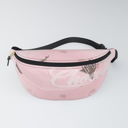 Pink Chocolate Fanny Pack