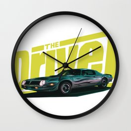 The Driver Wall Clock