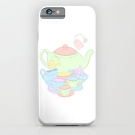 Mad Hatter Tea Party  iPhone Case