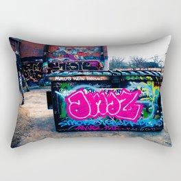 Amazed Grafitti Rectangular Pillow