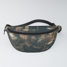 NYC from above - Ariel Image Fanny Pack