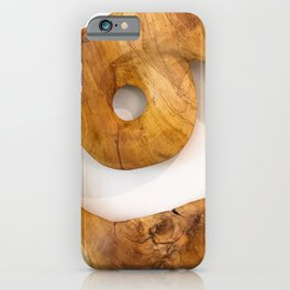 Circle of Wood  iPhone Case