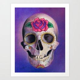 La Calavera Art Print
