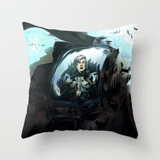 Search for Leviathan Throw Pillow