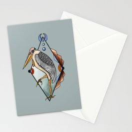 """CRANE"" Stationery Cards"