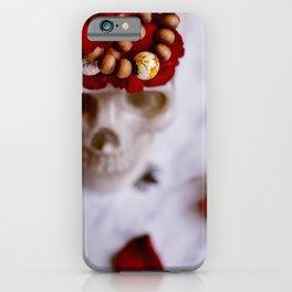 Halloween Kisses iPhone Case