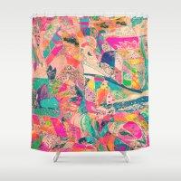 arab Shower Curtains featuring Harem by Fernando Vieira