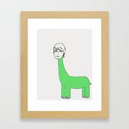 GenevaSaurous Framed Art Print