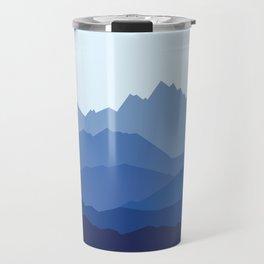 Blue Mountain range Travel Mug