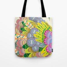 Cloud Peacock Tote Bag