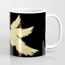 Light Gold Archangel Wings Coffee Mug