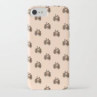 bikes iPhone & iPod Cases featuring Bikes by andy_panda_