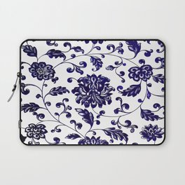 Chinese Floral Pattern Laptop Sleeve