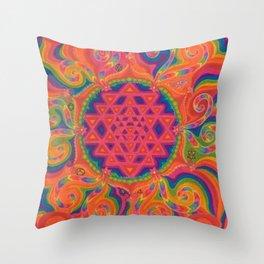 Meditative State Throw Pillow
