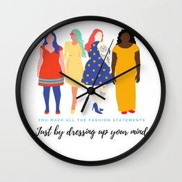 Beauty In Ugly Wall Clock