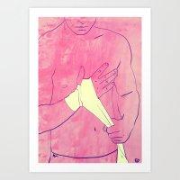 Boxing Club 1 Art Print