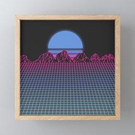 Sundown Framed Mini Art Print