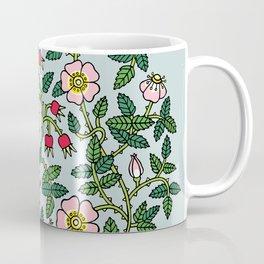 Wild Roses Flower Bunch Coffee Mug
