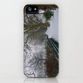 On a Winter's Day iPhone Case