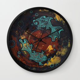 Two Lost Souls Wall Clock
