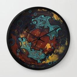 Two Lost Souls Wall Clock
