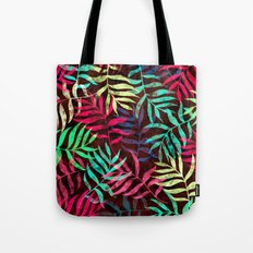Watercolor Tropical Palm Leaves IV Tote Bag