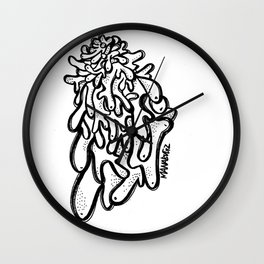 Disconnected Wall Clock