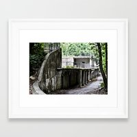 dungeons and dragons Framed Art Prints featuring Dungeons by Kima