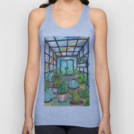 cactus are awesome Unisex Tank Top