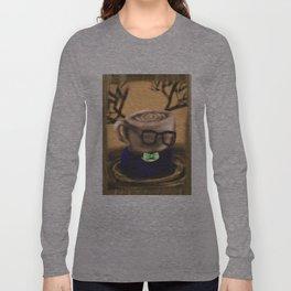 Coffee Bloke Tea Party Long Sleeve T-shirt