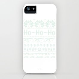 McClane Winter Sweater iPhone Case