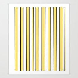Strips 4-line,band,striped,zebra,tira,linea,rayas,rasguno,rayado. Art Print