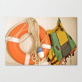 Lake Club Canvas Print