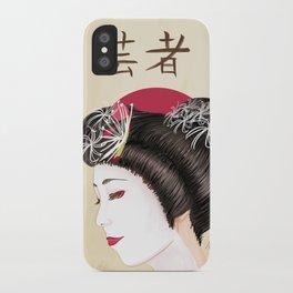 Geisha - Painting iPhone Case