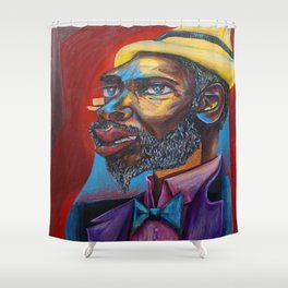 Thelonious Monk Shower Curtain
