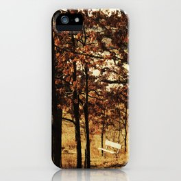 Respite on the Trail iPhone Case