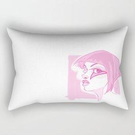 Bowie's Girl Rectangular Pillow