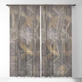 Gear Sheer Curtain