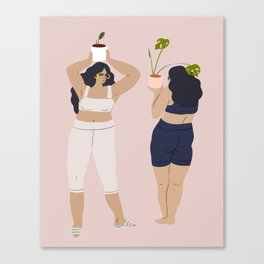 plant dance Canvas Print