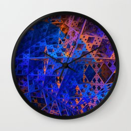 Orderly Disorder Wall Clock