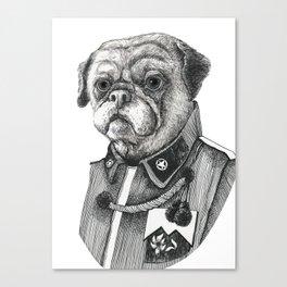 Mr. Pug Canvas Print