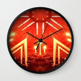 Holy Flame Wall Clock