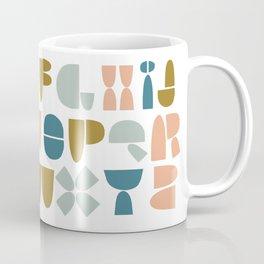 wonky ABC Coffee Mug