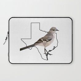 Texas – Northern Mockingbird Laptop Sleeve